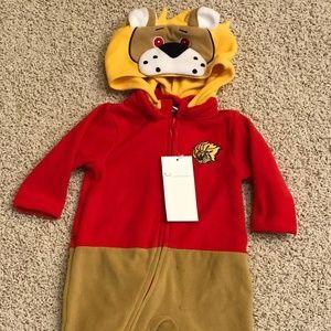 Lion Mascot Wear Kids Size 3M to 6M RARE